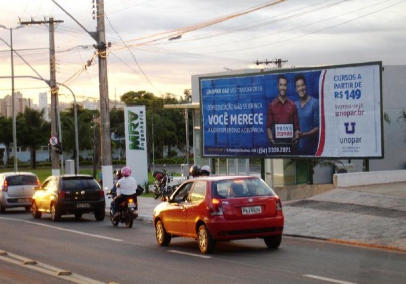 produto <em>Editar Locais</em> Placa 097 opendoor paineis outdoor painel de led frontlight empena anuncie anuncio uberaba mg