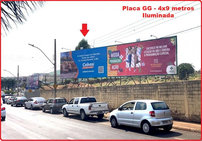 produto <em>Editar Locais</em> Placa 221 opendoor paineis outdoor painel de led frontlight empena anuncie anuncio uberaba mg