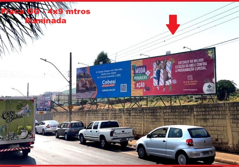 produto <em>Editar Locais</em> Placa 222 opendoor paineis outdoor painel de led frontlight empena anuncie anuncio uberaba mg